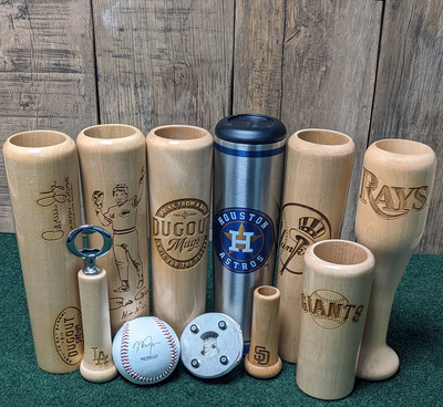 Dugout Mugs has over 17,000 five-star reviews on their wide variety of baseball bat barware products. Founded by a former professional baseball player in 2016, Dugout Mugs surpassed 8-figures in revenue in 2020. Their flagship product is the original Dugout Mug, a 12 oz. mug made from the barrel of a baseball bat. Licensed with MLB, MLBPA, MiLB, and the National Baseball Hall of Fame, Dugout Mugs is becoming a household name for every baseball fan.