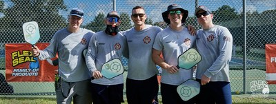 Flex Seal Sponsors Local Pickleball Tournament to Support First Responders. (Photo by Flex Seal)