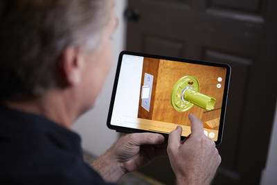 BILT is free to both consumers and professionals locksmiths, installers, handymen, repairmen, and plumbers. The 3D images are manipulatable on a touchscreen device. Users can tap on a part for information, pinch to zoom in & out, and rotate images 360 degrees for an optimum perspective.