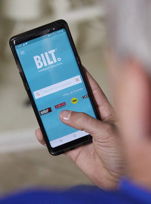 Inside the BILT app you can search for a product by brand or by product name. 3D interactive instructions will guide you step by step through the installation or assembly with voice, text, and animated images.