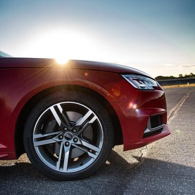A view of the new Bridgestone Sport ultra-high performance tire.