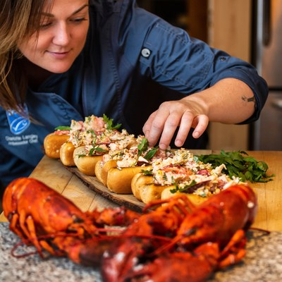 Chef Charlotte Langley has partnered with Lobster PEI to launch the second annual Lobster PEI Roll Call in the GTHA. (CNW Group/The Lobster Fishers of Prince Edward Island (LFPEI))