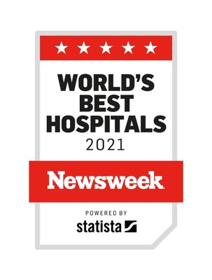 For the third consecutive year, MemorialCare Long Beach Medical Center has been recognized as part of Newsweek annual list of World's Best Hospitals. Long Beach Medical Center, along with sister hospital, Miller Children's & Women's Hospital Long Beach, comprise the West's second largest hospital campus. Both received U.S. News & World Report America's Best Hospital national rankings in addition to many other accolades. (PRNewsfoto/MemorialCare)
