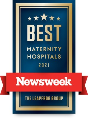 """MemorialCare Saddleback Medical Center is one of only two hospitals in Orange County, Calif. recognized on Newsweek """"Best Maternity Hospitals 2021"""" list honoring hospitals providing exceptional care to mothers, newborns and their families. MemorialCare Orange Coast and Saddleback Medical Centers also landed the first and second spots in Orange County Register Best of Orange County Hospitals. (PRNewsfoto/MemorialCare Saddleback Medical Center)"""