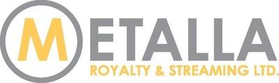 Metalla Royalty and Streaming Ltd. logo (CNW Group/Metalla Royalty and Streaming Ltd.)