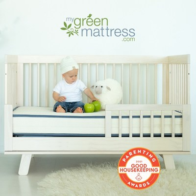 Emily Organic Crib Mattress from My Green Mattress Receives Good Housekeeping 2021 Parenting Award