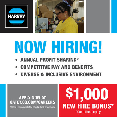 Oatey Co., a leading manufacturer in the plumbing industry since 1916, is hosting a hiring event on August 14 at its Omaha, NE, manufacturing facility.
