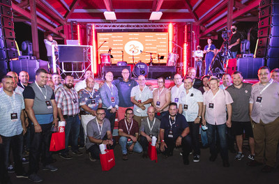 Pep Boys 25-year employees were recently recognized for service to the company at a Pep Boys Road Trip event, a centennial celebration that brought together customers, suppliers and Pep Boys Team Members.