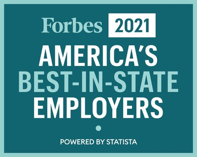 Tampa General Hospital is named one of Forbes magazine's America's Best Employers, ranking third out of 100 Florida companies and first in the state in healthcare and social organizations.