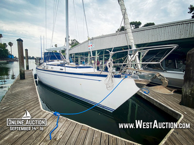 Online Auction of 1998 Hans Christian Christina 52' Sailboat at www.WestAuction.com.