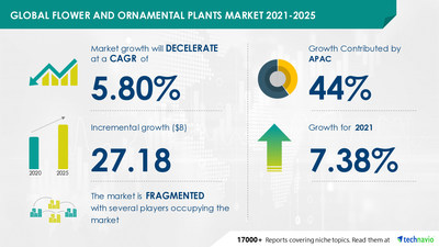 Attractive Opportunities in Flower and Ornamental Plants Market by Product, End-user, Distribution Channel, and Geography - Forecast and Analysis 2021-2025