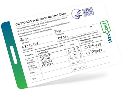 VaxCard is a valid wallet-sized, waterproof card with an exact image of your original CDC COVID-19 vaccine record, made in the U.S. for Americans.