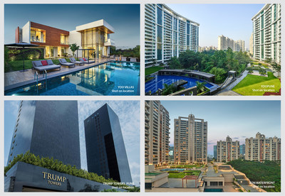 Residential Portfolio of Panchshil Realty at Pune (PRNewsfoto/Panchshil Realty)