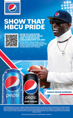 Pepsi is rallying HBCU students and alumni to vote for their favorite university, unlocking a $25,000 donation to the winning school's general scholarship fund.