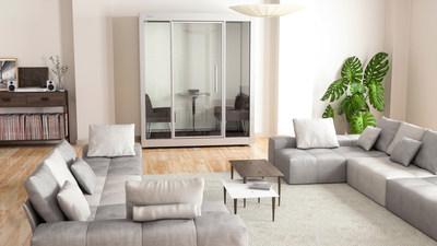 Meet 2 Home Office Pod (CNW Group/SnapCab)