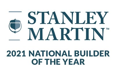 Stanley Martin Homes named 2021 National Builder of the Year.