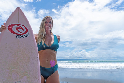 World renowned surfer, lifestyle coach and mother Bethany Hamilton partners with PainBloc24® for the launch of ProWomen Pain Relief Patch.